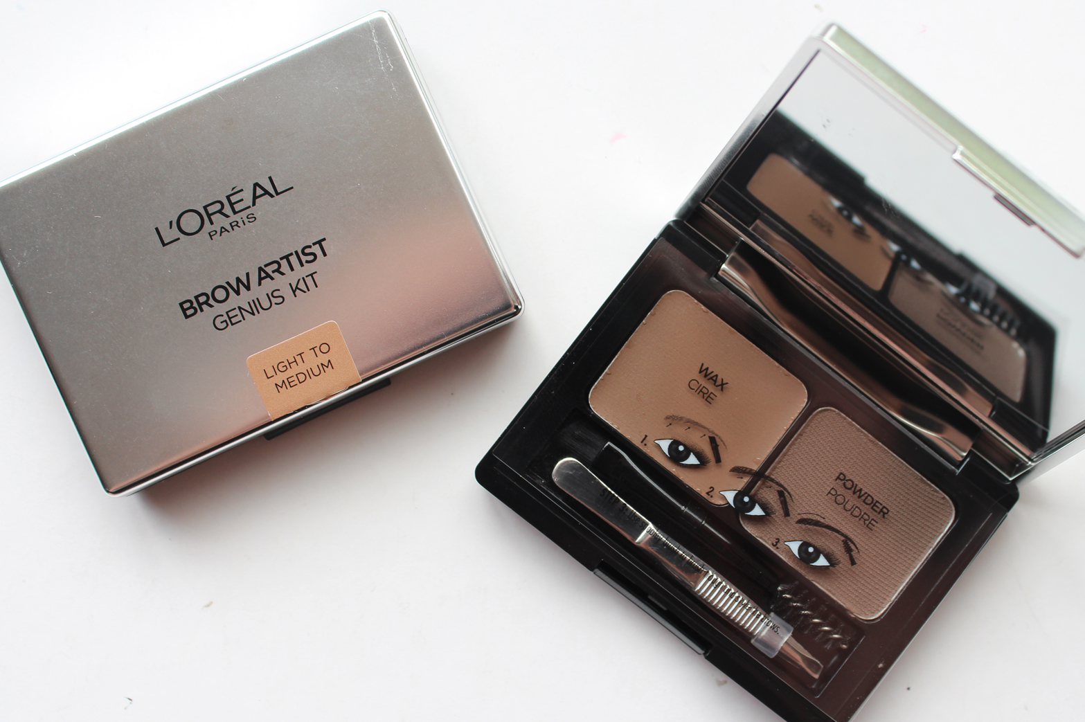 L'OREAL PARIS | New Releases October/November '15 - Review + Swatches - Brow Artist Genuis Kit - CassandraMyee