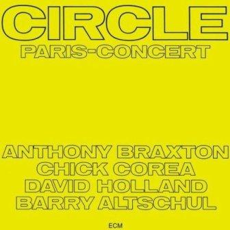 Chick Corea AlbumcoverCircle-ParisConcert-AnthonyBraxton-ChickCorea-DaveHolland