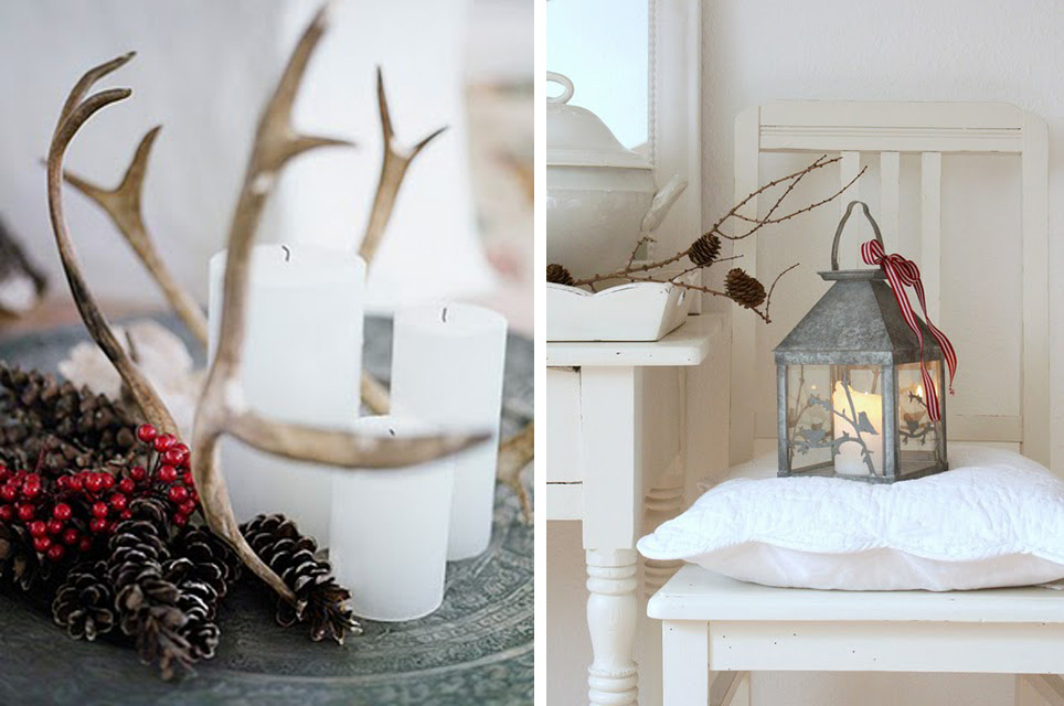 Country style chic a nordic style christmas for Country chic christmas