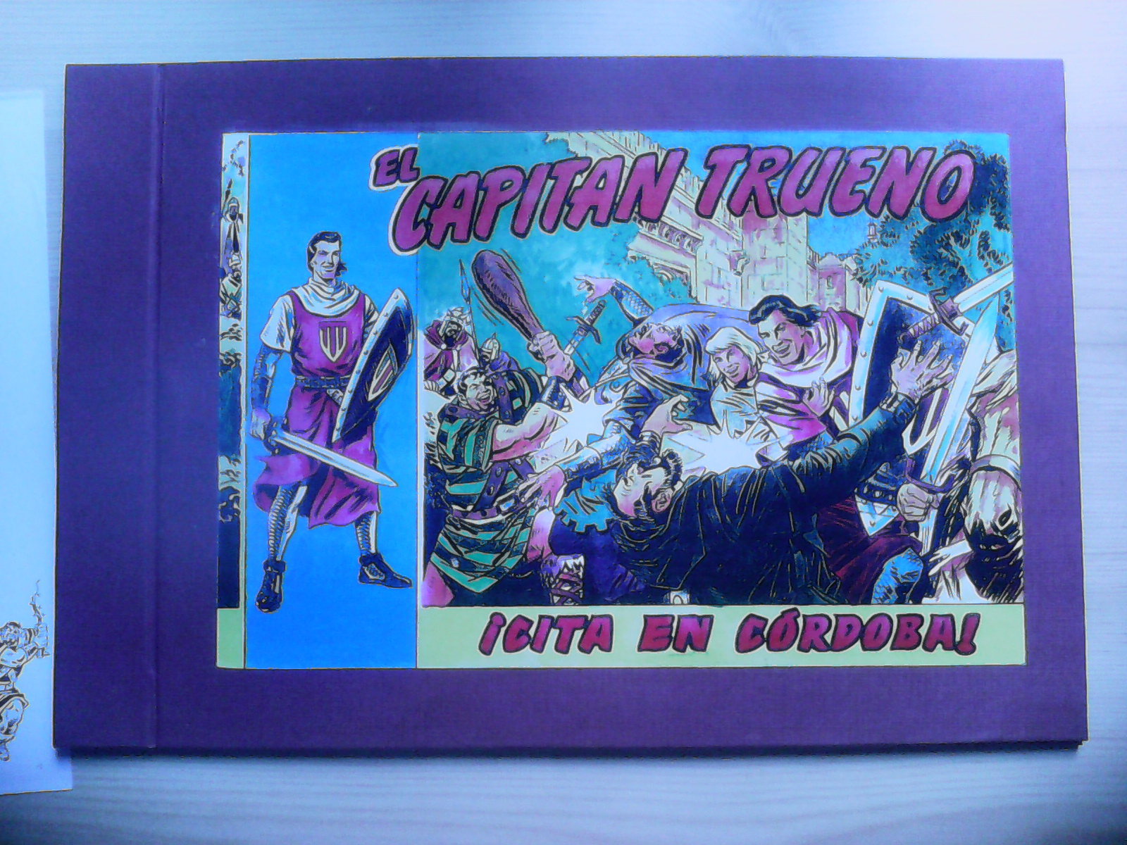 Capitan Trueno. Cita en Córdoba