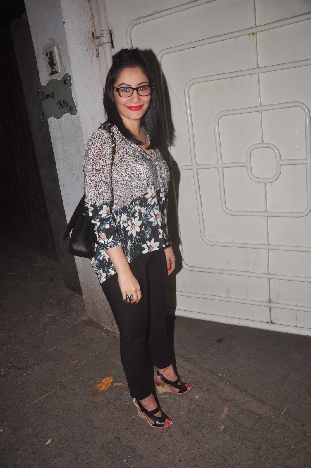 Sonakshi & Other celebs at Special screening of 'Action Jackson'