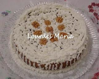 Uma delícia de torta de nozes