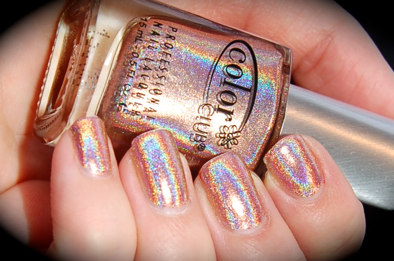 Swatch of Color Club Cosmic fate, Color Club Halo Hues 2013,blog, nail polish, blogg nagellack
