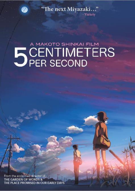 5 centimetro por segundo