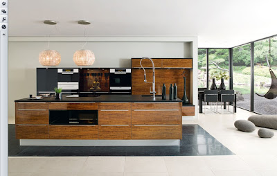 modern kitchen design and ideas -wooden cabinets