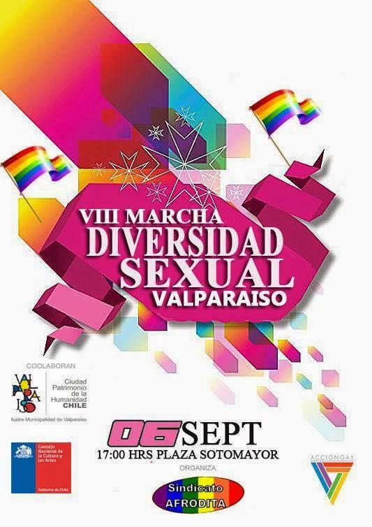 MARCHA GAY EN VALPARAISO