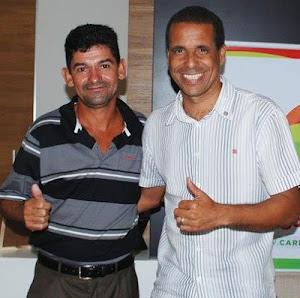 Prefeito Juninho recebe  na prefeitura!!