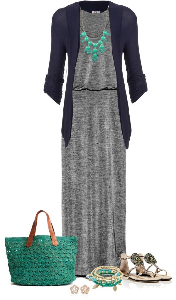 Fabulous Maxi Winter Outfit