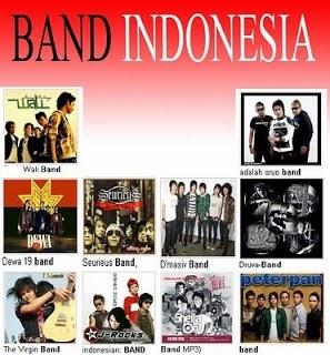 DAFTAR NAMA FANS BAND/ MUSISI INDONESIA