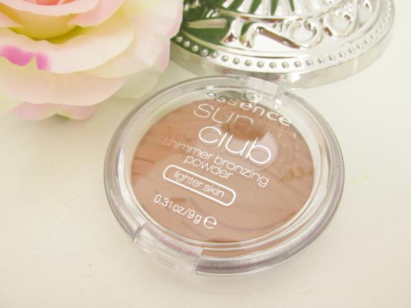 essence Sun Club Shimmer Bronzing Powder 30 sun loved Neuheiten Herbst 2014