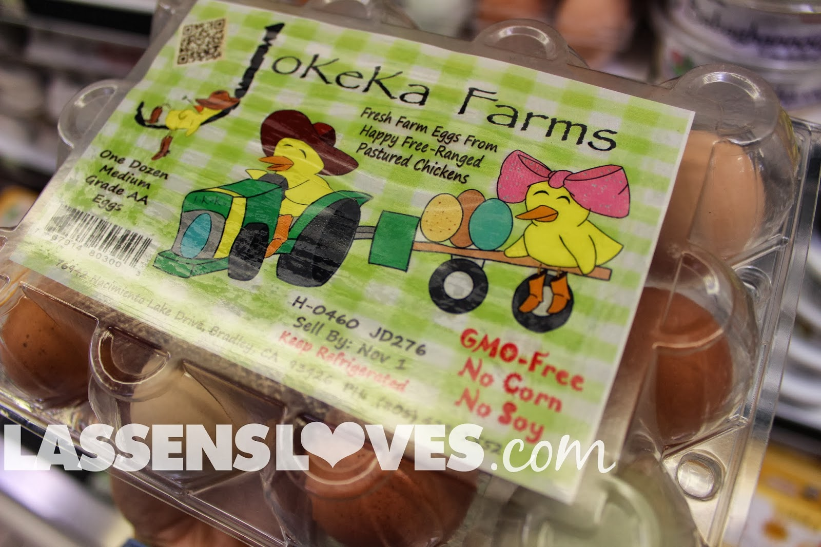 lassensloves.com, Lassen's, JoKeKa+Farm+Eggs