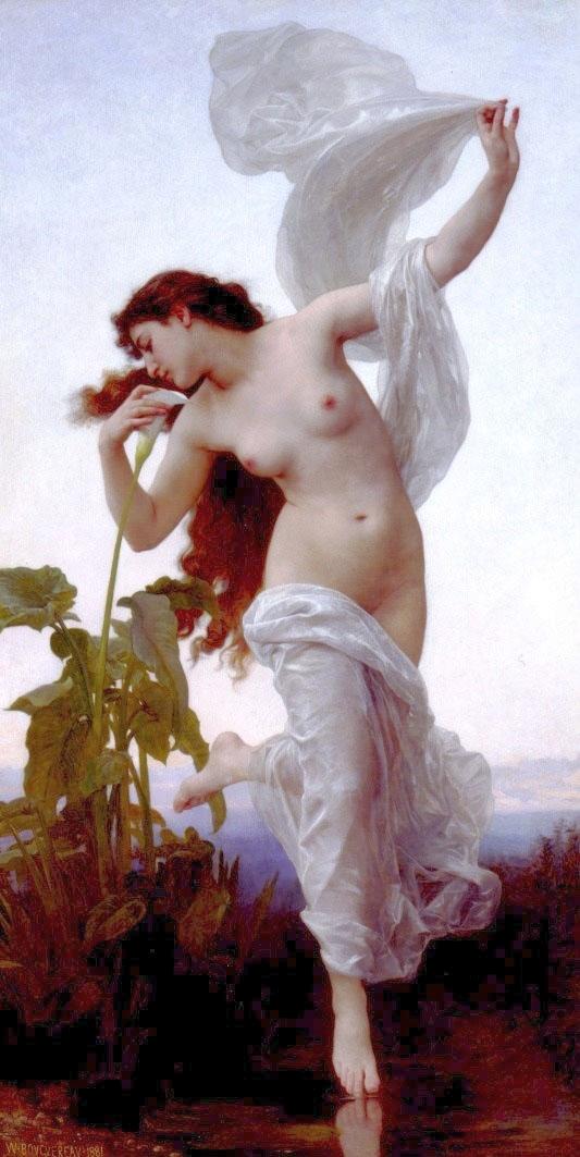 dawn,William Adolphe Bouguereau,goddess