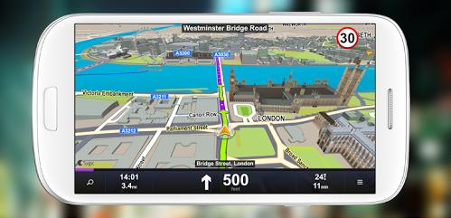 Sygic GPS v13.4.8 Navigasi Offline Android dengan Cara Install