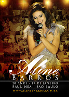 Aline Barros 20 anos 2012