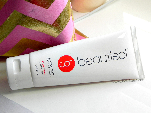 review beautiful exscrub me citrus face exfoliant