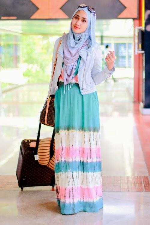 Model hijab Dian Pelangi untuk remaja