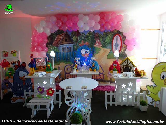 tema da Galinha Pintadinha para decoração de festa de aniversário infantil para meninos e meninas - festa infantil