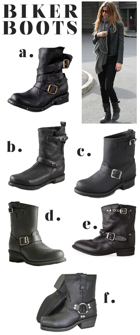 biker boot trend made by