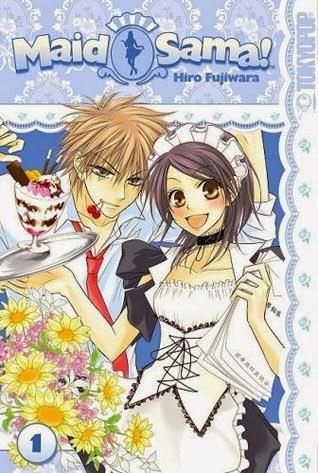 Manga Kaichou wa Maid-sama cover