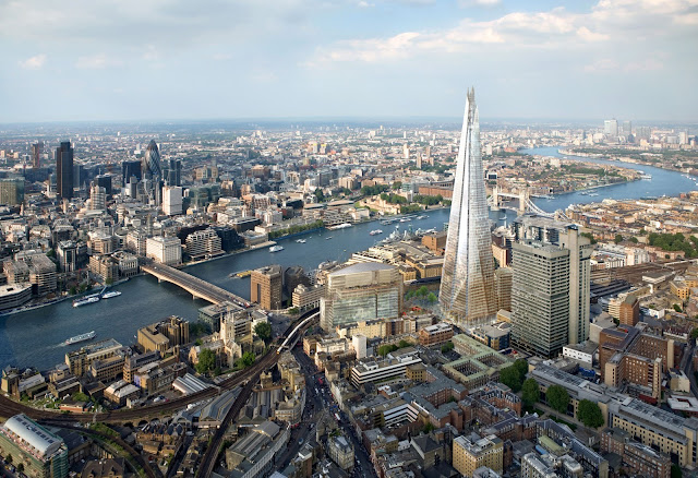 Digital View of the Shard