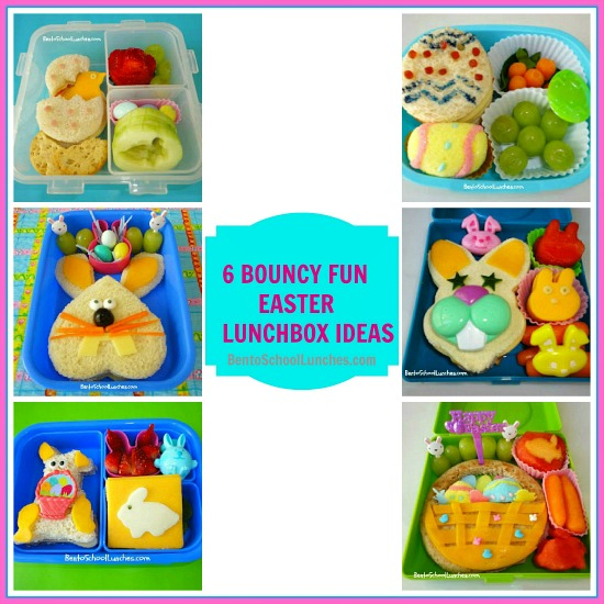 Bento school lunches bento lunch 6 cute and simple for Easy easter lunch menu