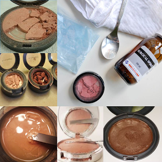 How To Fix Broken Eyeshadows