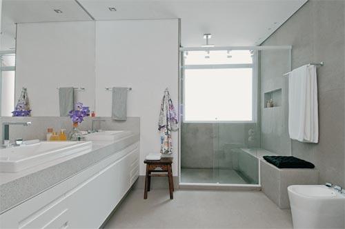 Reforma reforma Banheiros inspiradores -> Banheiros Planejados Grandes