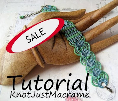 Micro Macrame tutorials on sale at www.knotjustmacrame.etsy.com this weekend