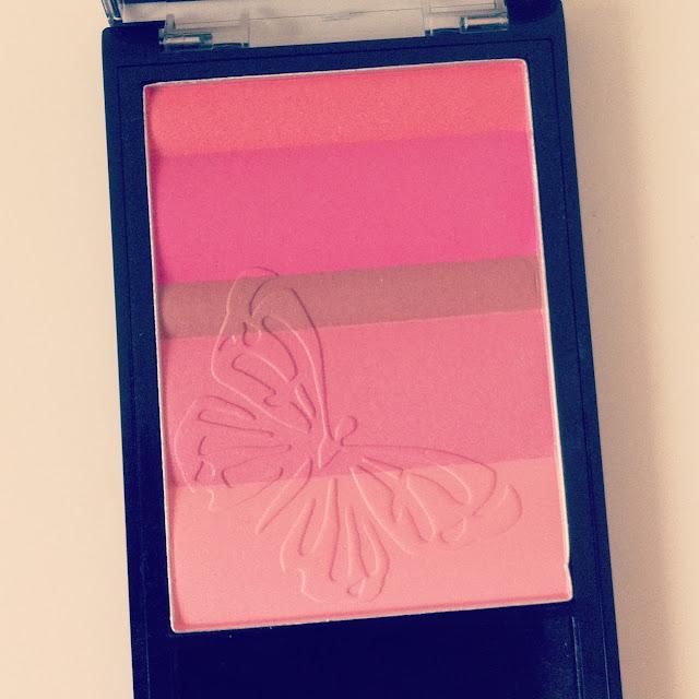 annabelle, blush, multi-blush palette, annabelle multi-blush palette in fresh pink