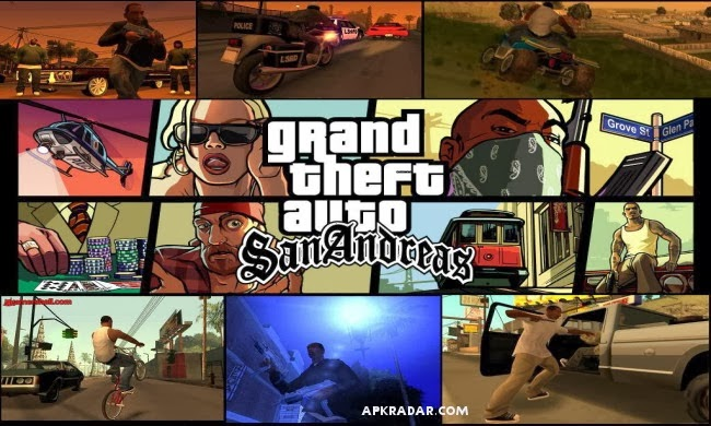 Free games for android phones and tablets grand theft auto san