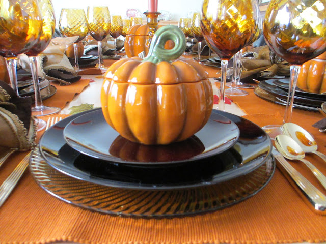 The Welcomed Guest Thanksgiving Formal Tablescape