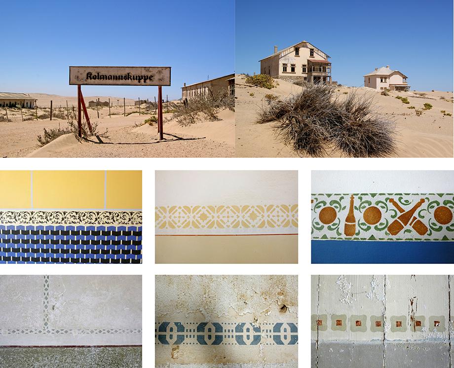 Ynas Reise Blog | Kolmannskuppe in Namibia | Wandornamente