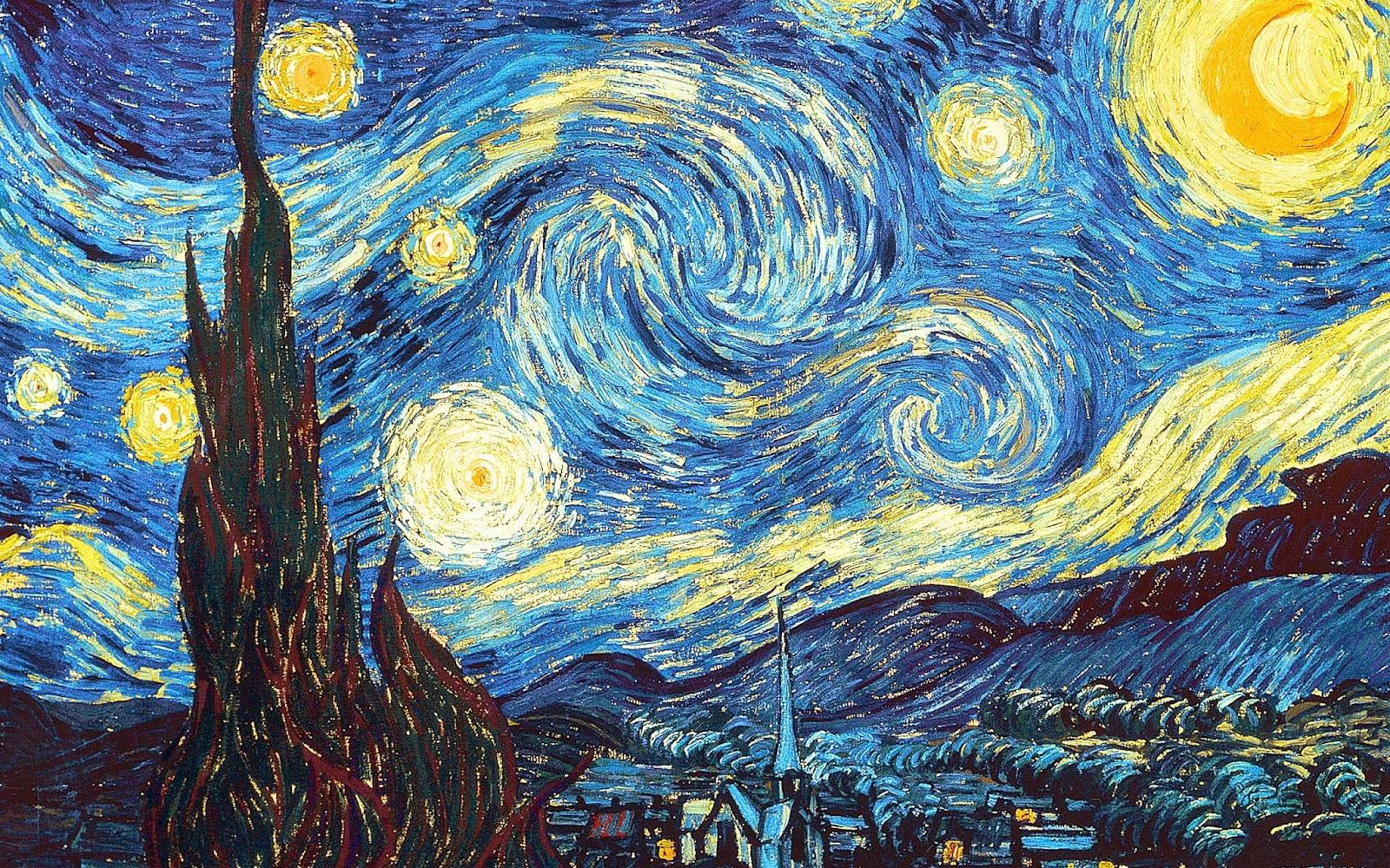 stairy night by van gough image