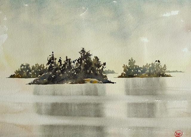 The Stockholm Archipelago by David Meldrum