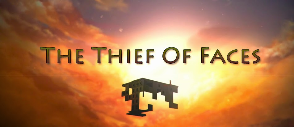 """The Thief Of Faces"" - A Screen Capture (With Additional Text) From The Video"