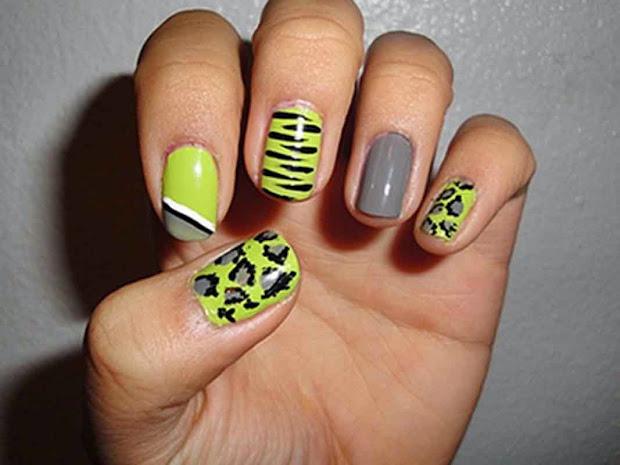 cool nail design short nails