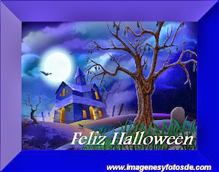 Feliz Halloween con Cementerio