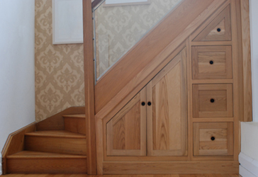 Modern homes under stairs cabinets designs ideas modern home designs - Cabinet design under stairs ...