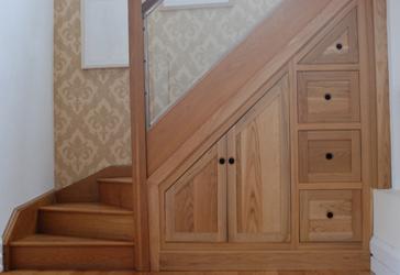 modern homes under stairs cabinets designs ideas modern