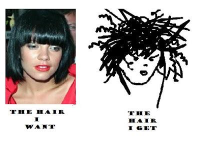 Lily Allen Hair