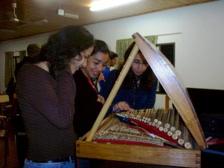 El estuche el conjunto de Flautas
