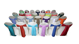 CHAIR SASH  RENTAL: $0.70