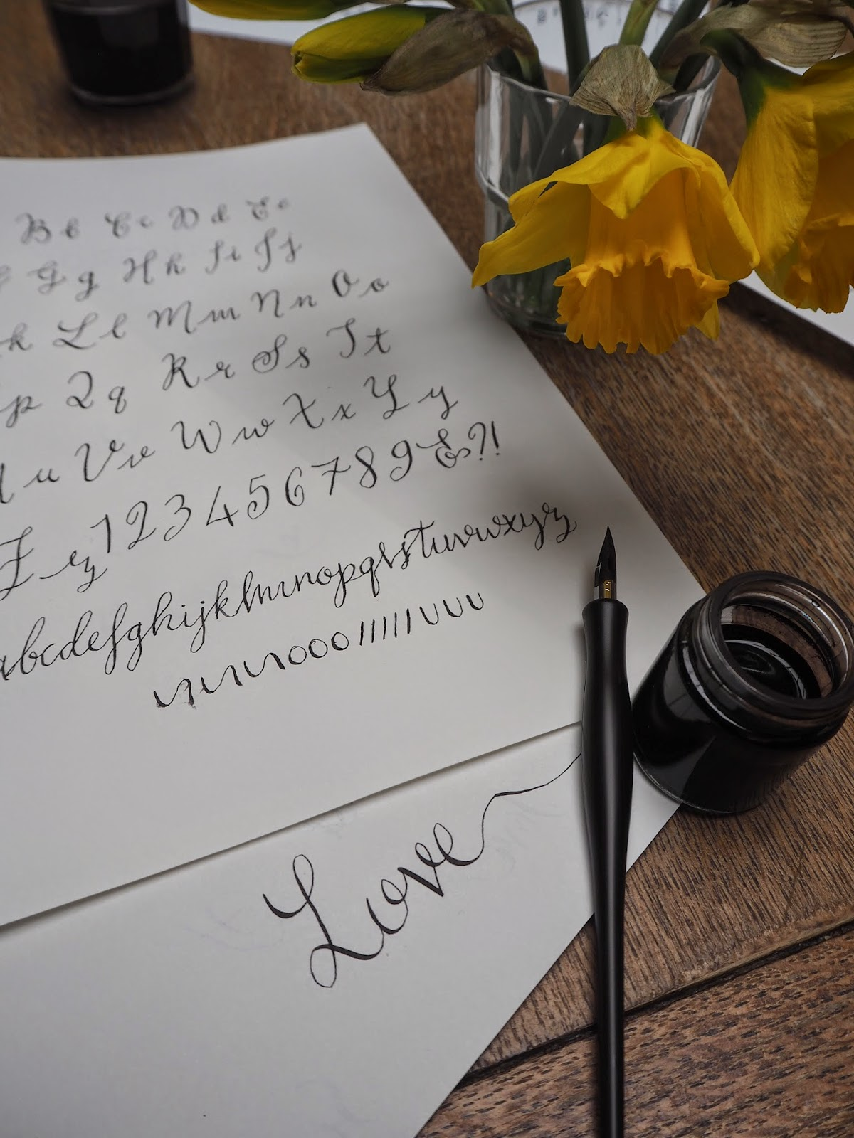 Learn modern calligraphy with quill so you re getting