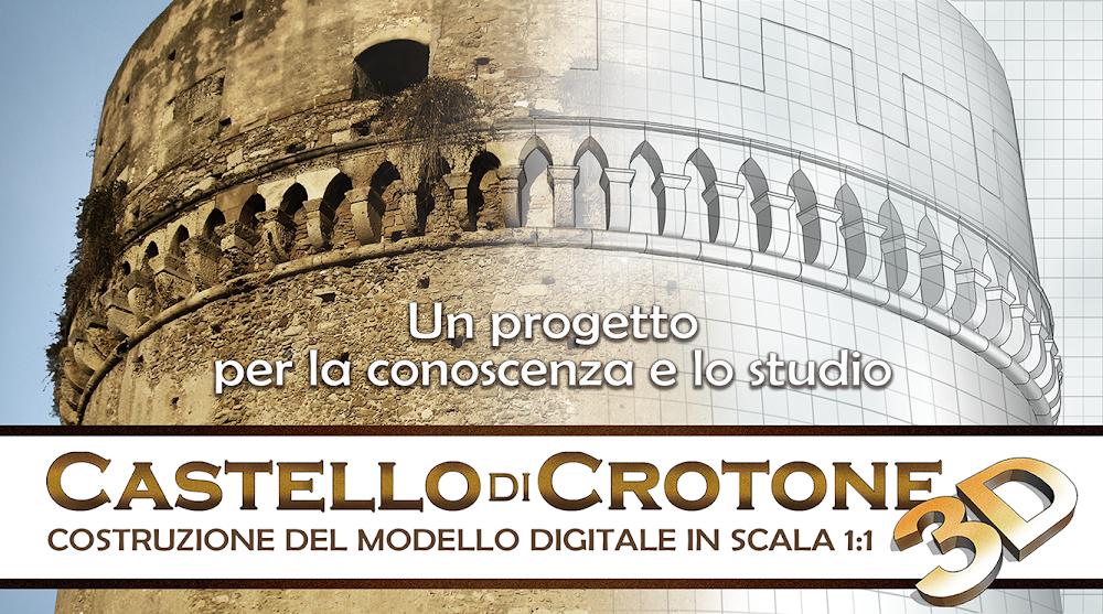 Castello di Crotone 3D