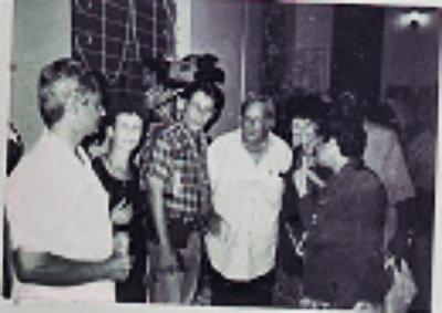 En una actividad civil de la Revista Vitral  en Pinar del Río Cuba
