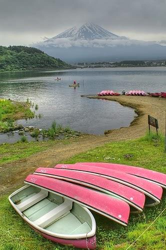 Mt. Fuji, Kawaguchi-ko lake