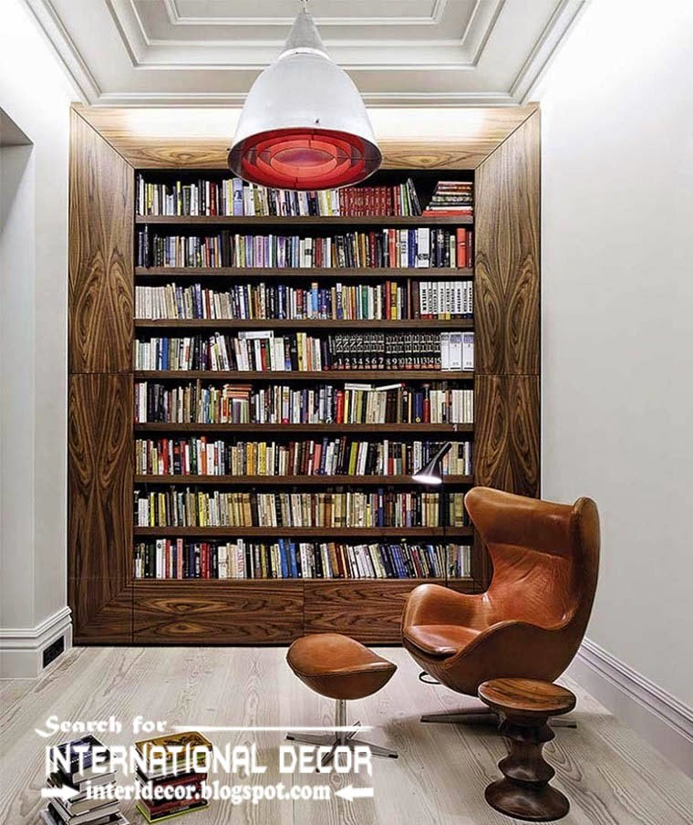 Home Library Design Ideas 22 beautiful home library design ideas for large rooms and small spaces Top Modern Home Library Design Ideas Furniture And Organization Library Wall Designs