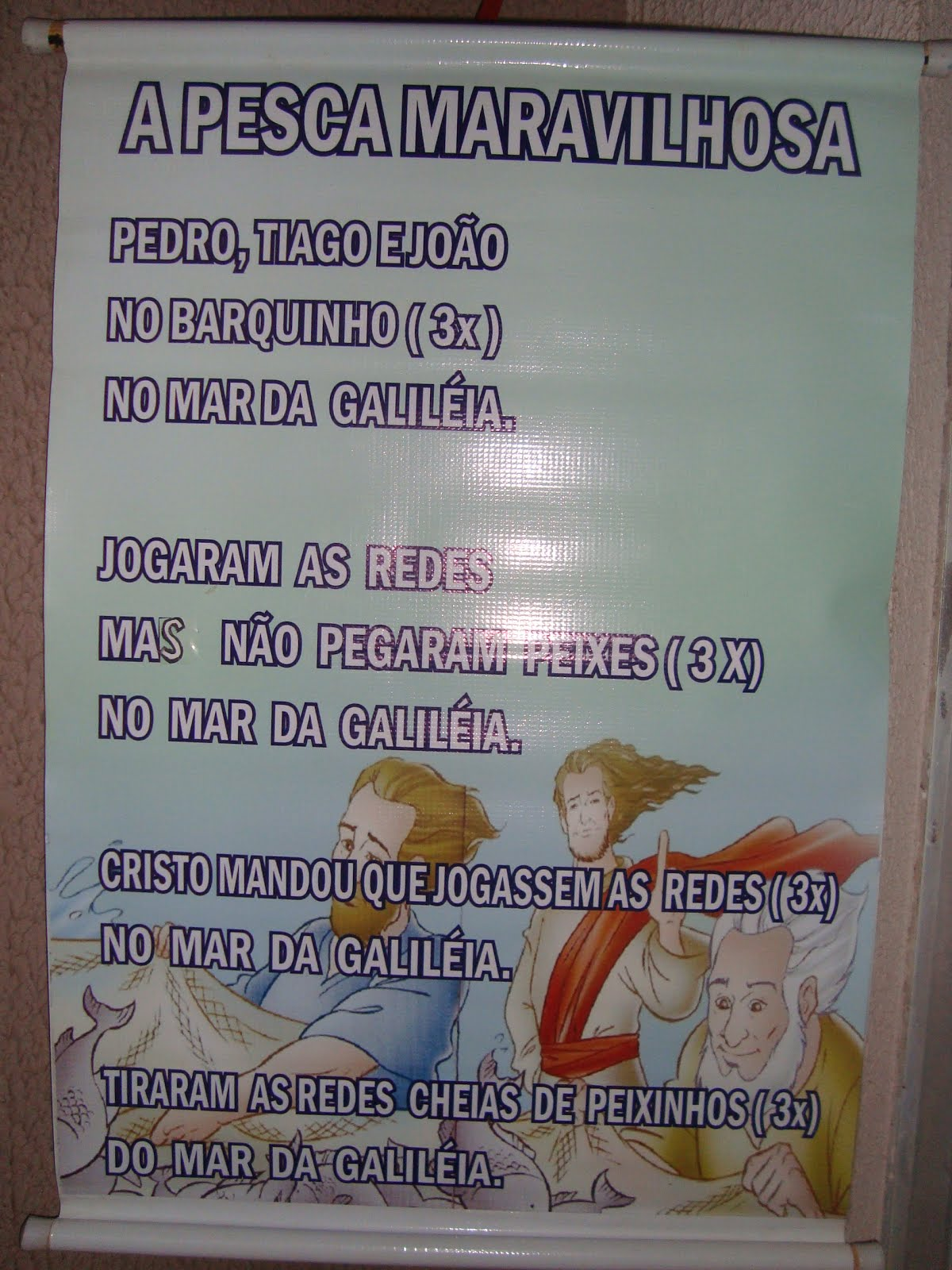 A PESCA MARAVILHOSA-MÚSICA