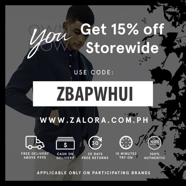GET 15% OFF ON ZALORA PH
