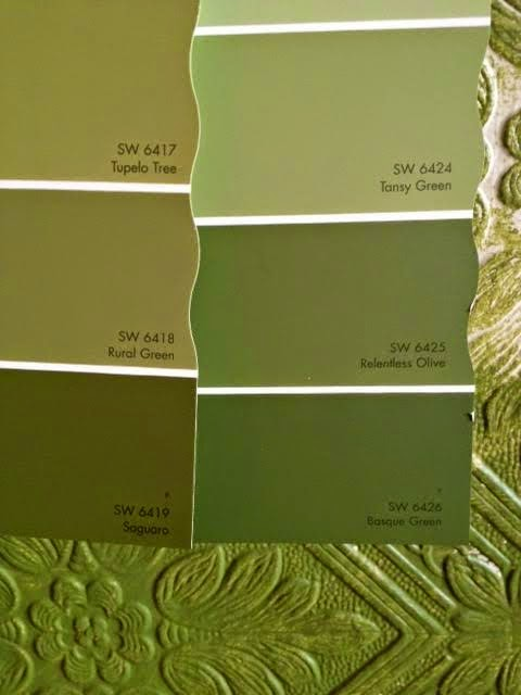 Old House Diary Paint Green